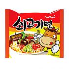 봉지쇠고기면(삼양)