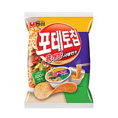 포테토칩육개장맛(농심)(1,500)